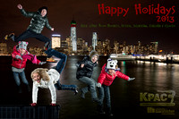 2013 Bannister Holiday Card - NY Skyline From Goldman Sachs